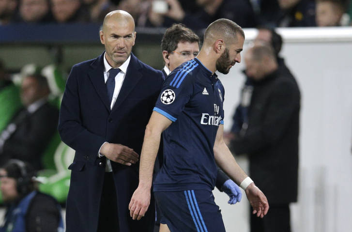 Zidane wants Real Madrid's unbeaten streak to go on