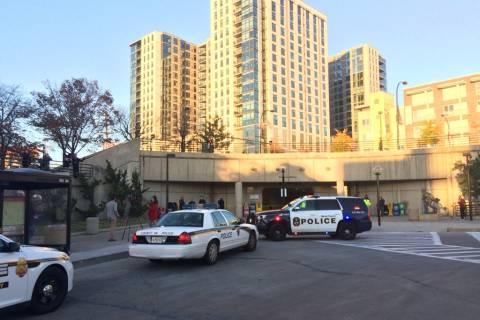 2 stabbed outside Wheaton Metro station