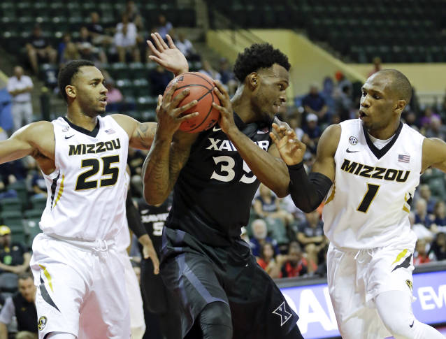 No. 11 Xavier hangs on, beats Missouri 83-82 in OT