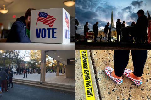 Elections officials: Scattered problems at polling places