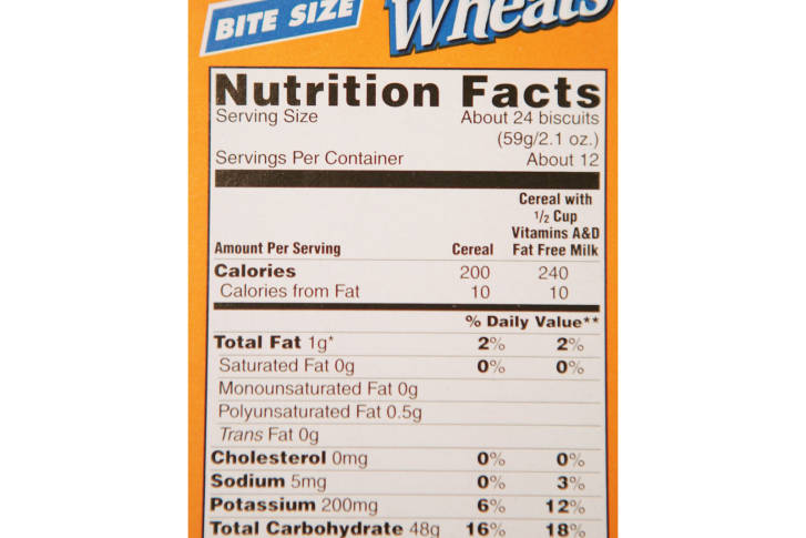 The Term Natural On Food Labels Means
