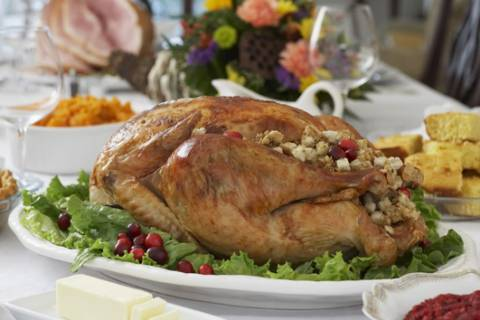 Thanksgiving dinner without lifting a finger
