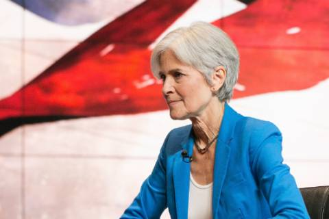 Green Party candidate Stein to file for vote recount in 3 battleground states