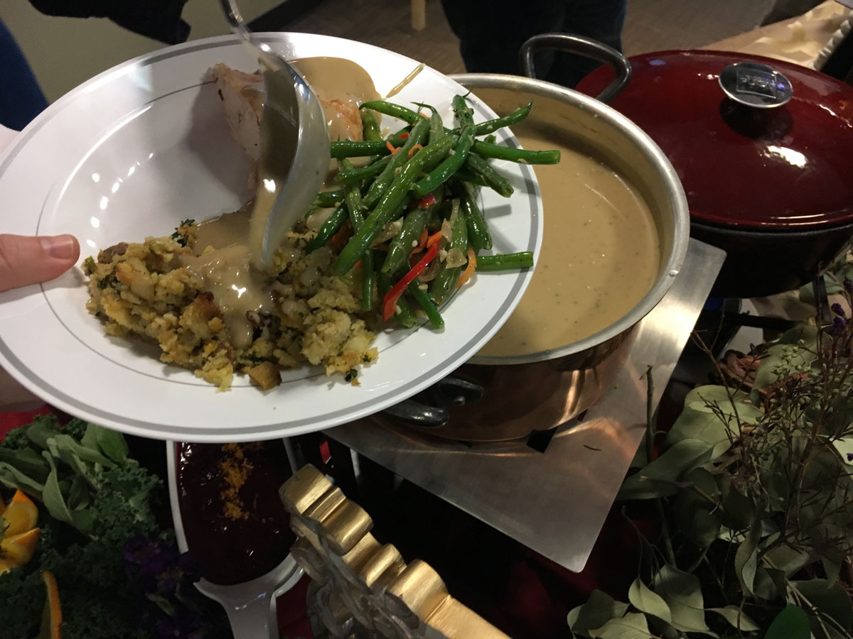 Nothing is complete without stuffing and gravy (WTOP/Vlahos)