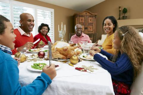 Talk turkey — and family health history — on Thanksgiving