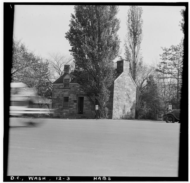 Officials say they're holding a groundbreaking ceremony Thursday for the restoration and relocation of the Lockkeeper's House, which was built in the 1830s. (Courtesy Library of Congress)