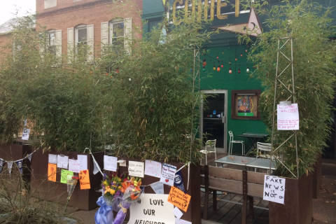 Businesses around Comet Ping Pong stay on alert after gunman