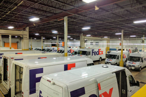 Behind the scenes at FedEx Express during the holiday shipping rush