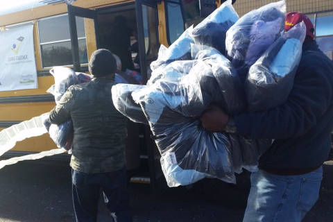Prince George's County students in need get gift of warmth — a new winter coat