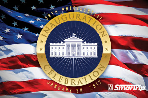 Metro's special inauguration SmarTrip cards won't feature Trump