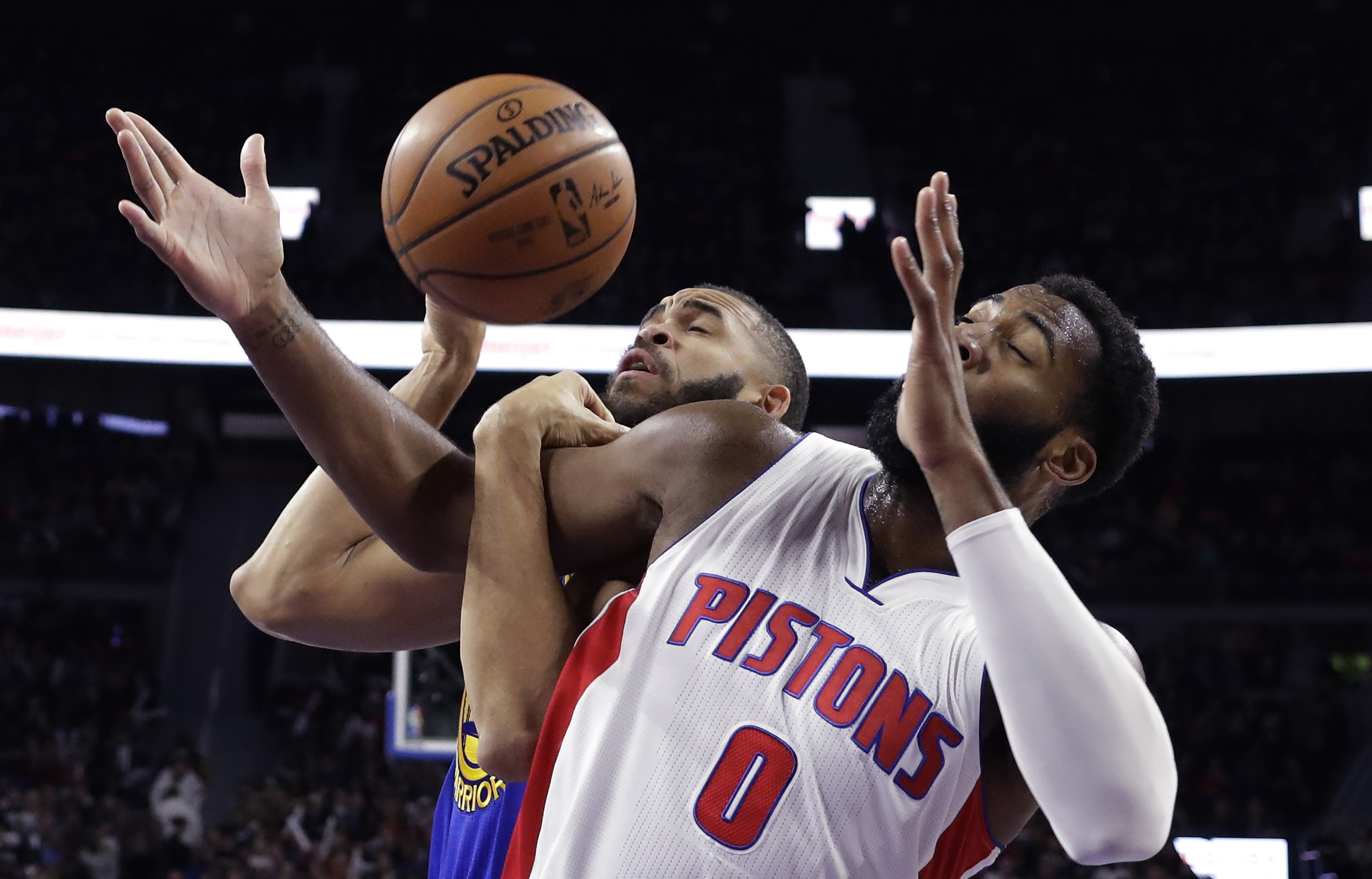 (AP) — The Golden State Warriors gave the Detroit Pistons a shot at an  upset, turning the ball over more than they had in any game this season.