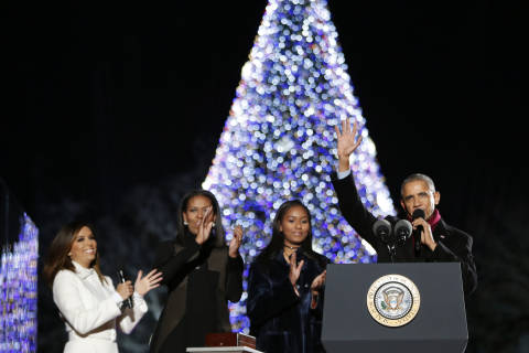 Photos: National Christmas Tree Lighting 2016