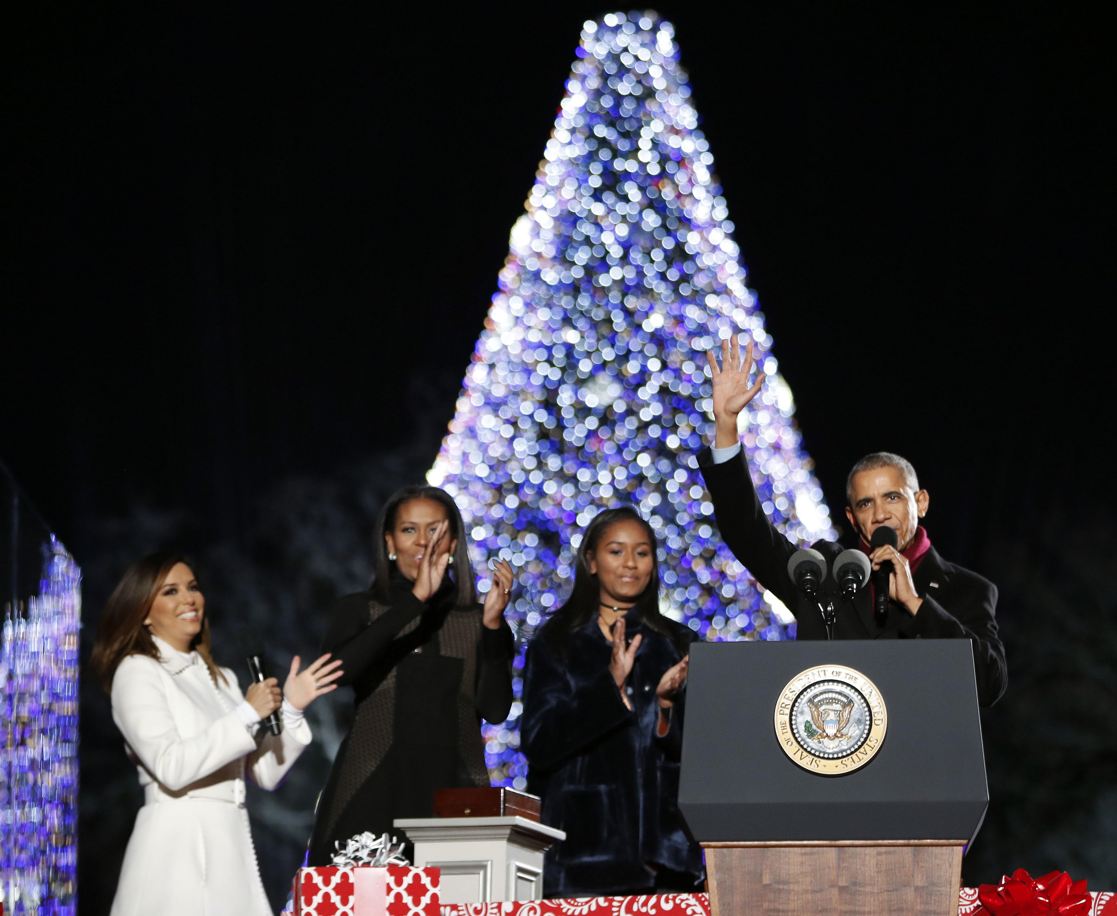 photos national christmas tree lighting 2016 wtop