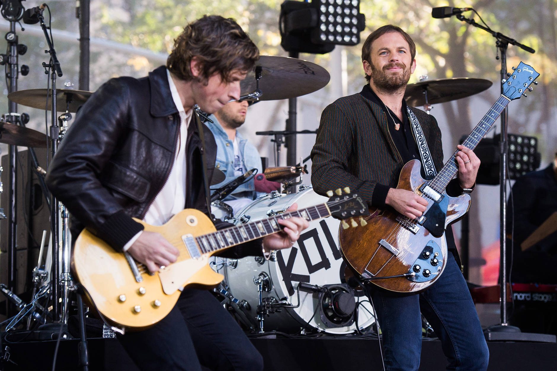 Kings of Leon will perform at MGM National Harbor Jan. 12, 2017. (Photo by Charles Sykes/Invision/AP)