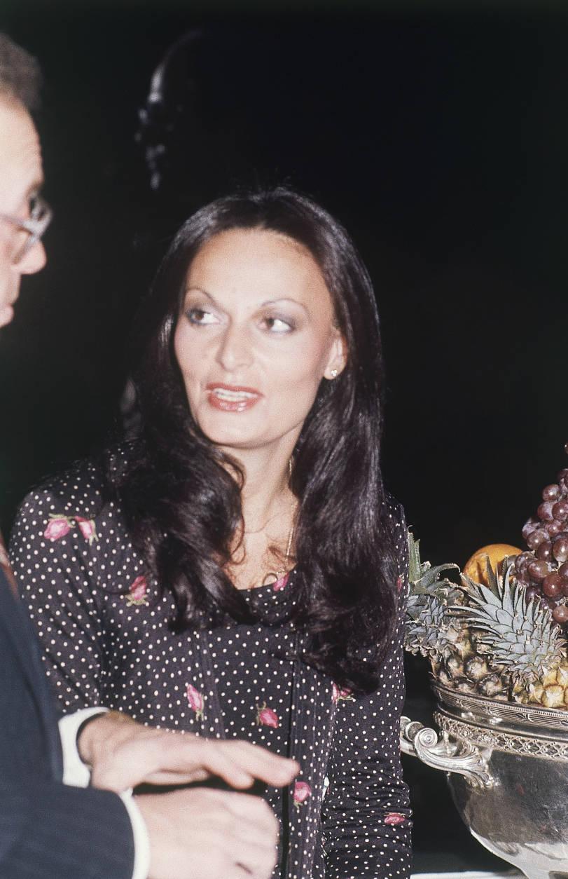 Dress designer Diane von Fürstenberg on March 1, 1977 in New York City. (AP Photo/Ray Stubblebine)