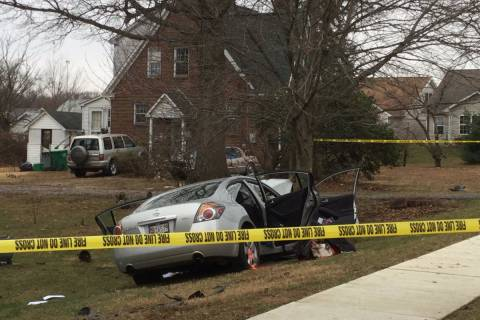 1 dead, 1 seriously hurt after vehicle strikes tree in Laurel