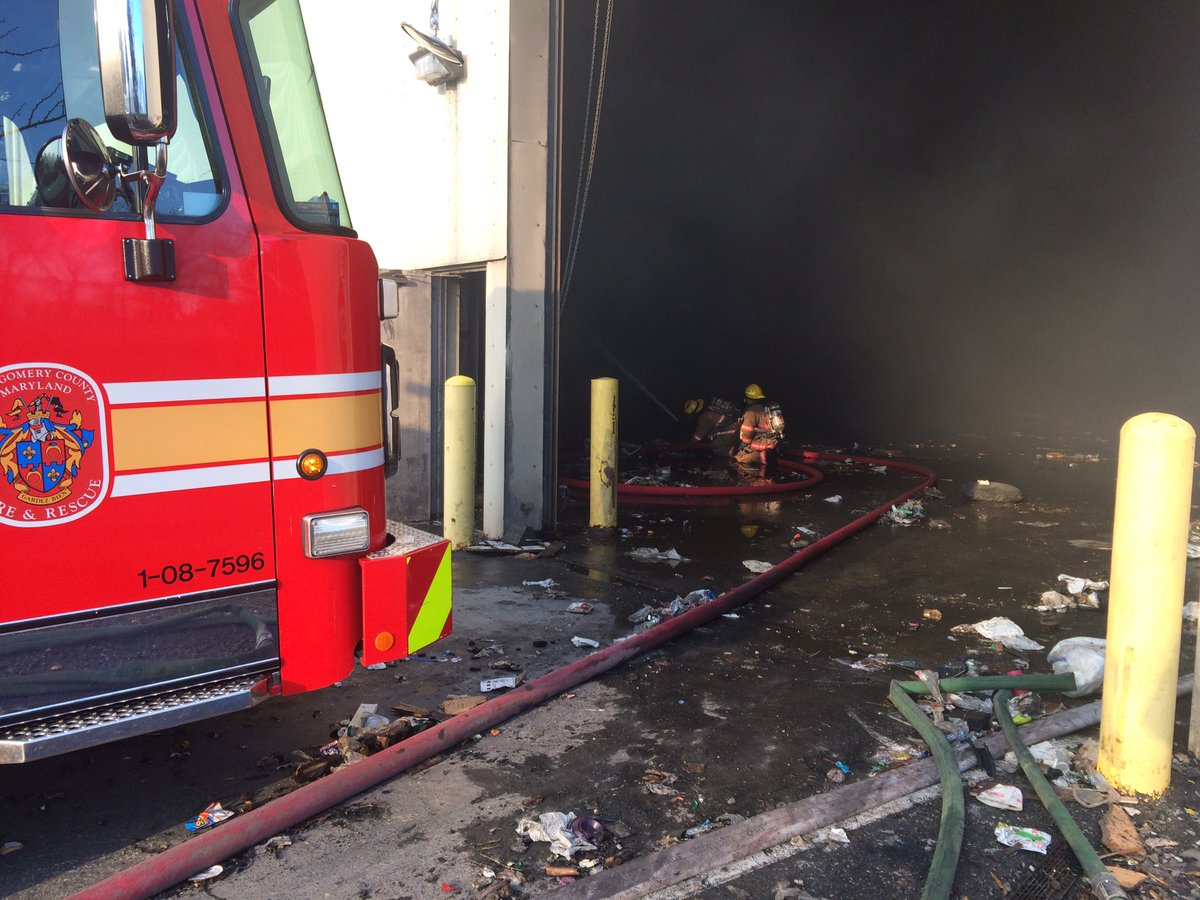 Some firefighters have been engages for over 36 hours, Montgomery County Fire spokesman Pete Piringer said. (Courtesy Pete Piringer)