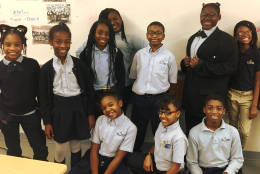 At DC Prep's Benning Middle Campus, located in Ward 7, students in 4th-7th grade are participating in the school's inaugural Student Council during this 2016-17 academic year. (Courtesy Amber Walker)
