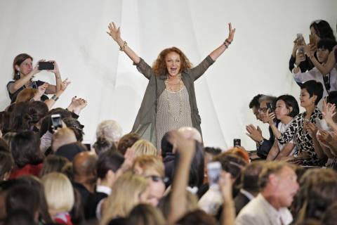 Fashion designer Diane von Furstenberg on diversity, Donald Trump and working women