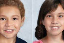 Prosecutors have not disclosed evidence of harm in the murder trial of Catherine Hoggle, who's charged with killing her children Jacob and Sarah. This is an age-progressed composite from 2016. (Courtesy Find Sarah and Jacob)