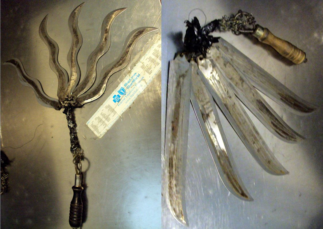 Five-bladed flogger — George Bush Intercontinental Airport (IAH)