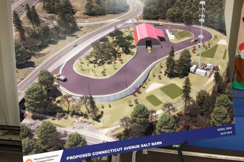 Md. wants to add new salt barn in Montgomery Co. near Beltway