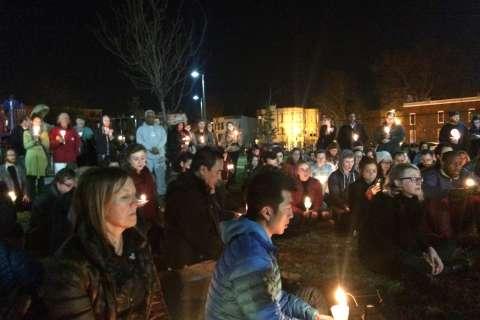 Mourners gather at vigil for slain DC yoga instructor