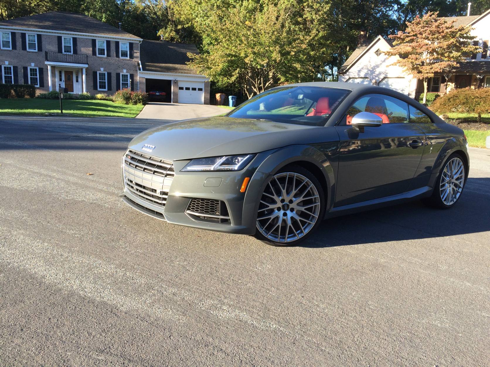 Audi TTS spices up the commute   WTOP