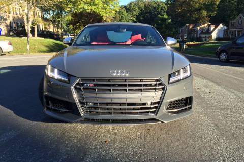 Audi TTS spices up the commute