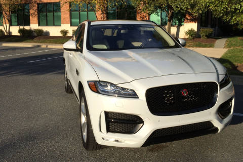 Luxury brand Jaguar jumps into SUV market with 2017 F-Pace