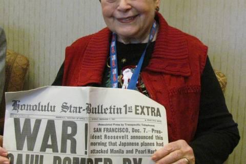 Fairfax Co. woman recalls Pearl Harbor attack