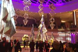 The main lobby of the MGM National Harbor on opening night. (WTOP/Mike Murillo)