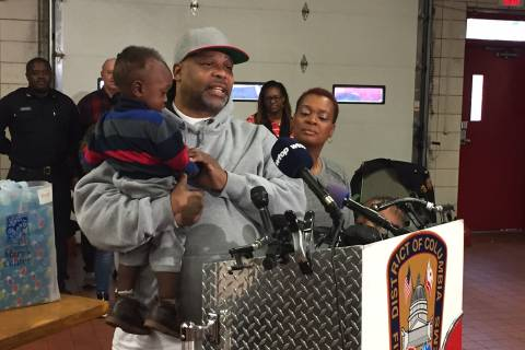 DC firefighters save Christmas for local family