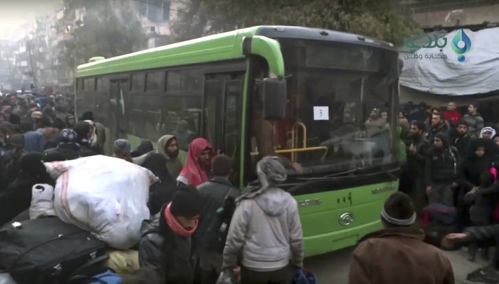 Aleppo evacuation to resume, plus cases from four towns-Syria govt source