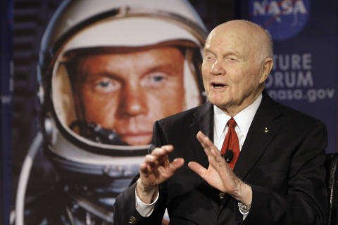 Saluting John Glenn and the end of an era