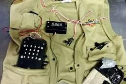 6. Replica suicide vest — Richmond International Airport (RIC)   (Courtesy TSA)