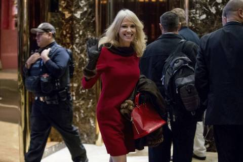Kellyanne Conway to be counselor to Trump