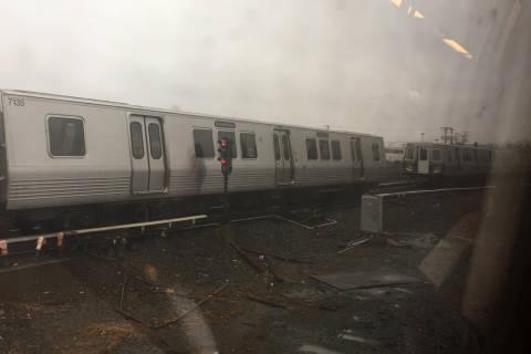 Metro train separates while carrying passengers