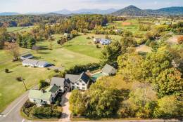 The Inn at a Vineyards Crossroads, an historic bed and breakfast dating back to 1787, in Hume, Virginia, is for sale for $1.495 million.  (Courtesy Long & Foster Real Estate)