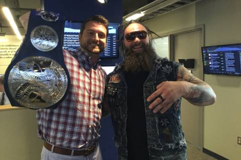 WWE visits WTOP before Smackdown Live, Tribute to the Troops