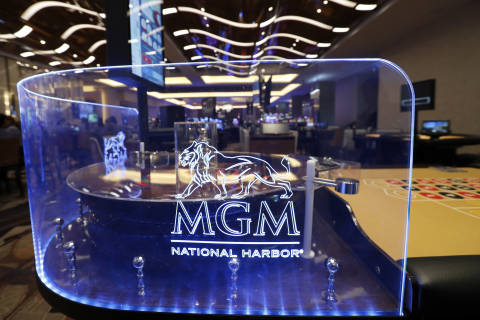 MGM National Harbor's April gaming revenue up nearly 16% compared with 2017