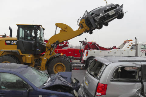 Weekend winter weather takes severe toll: Resources and response in Md., Va.