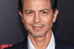 "Actor Benjamin Bratt attends the premiere of ""The Infiltrator"" at AMC Loews Lincoln Square on Monday, July 11, 2016, in New York. (Photo by Evan Agostini/Invision/AP)"