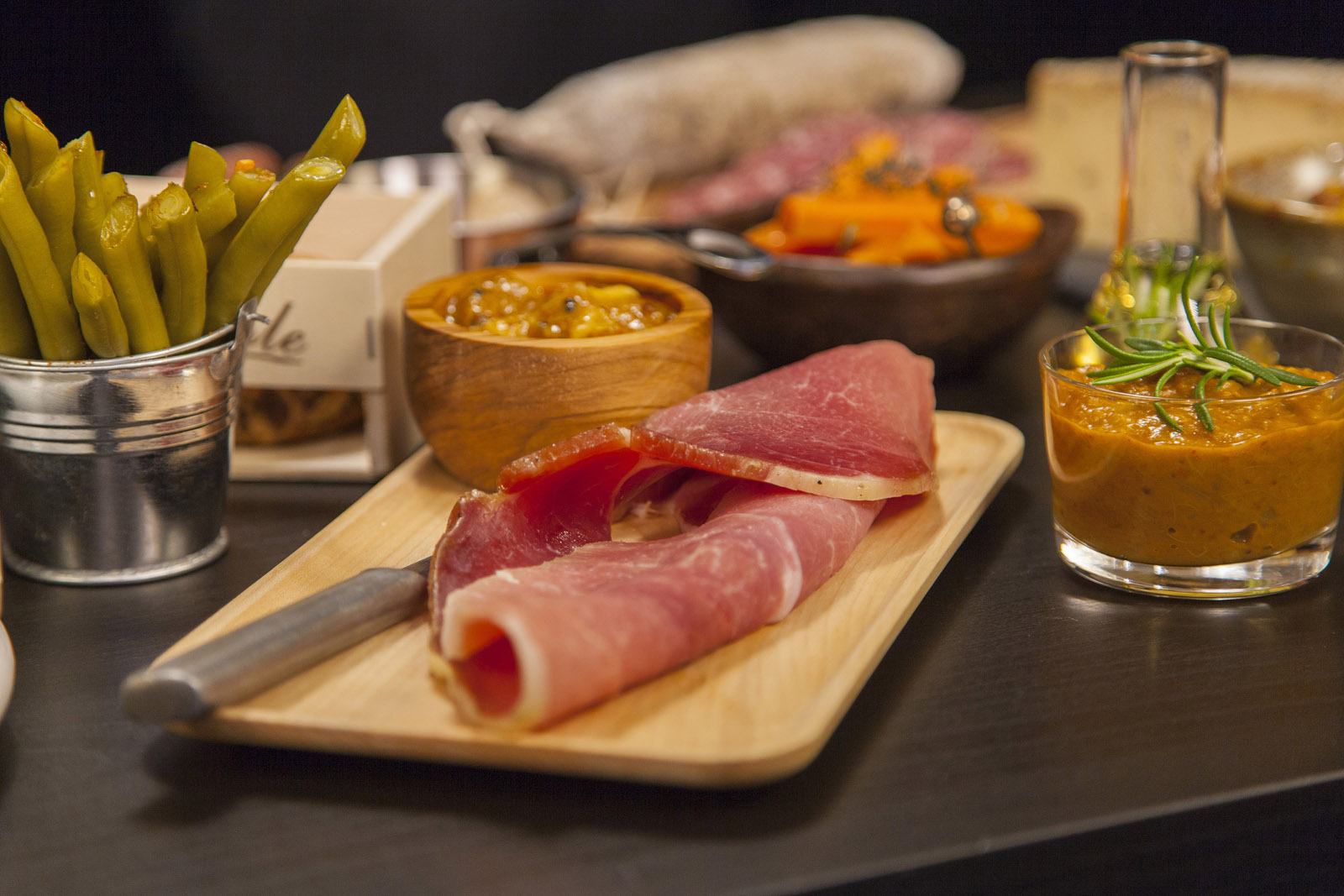This handout photo provided by the National Restaurant Association shows house-made charcuterie, which is among the hot new menu items that restaurant-goers can expect to see in 2017, according to the association's annual survey of chefs. (Courtesy National Restaurant Association)