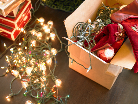 """""""Go ahead and check all the decorations that you're using year after year,"""" said Electrical Safety Foundation International President Brett Brenner. """"So, no breaks in the wires, no broken bulbs -- those types of things."""""""