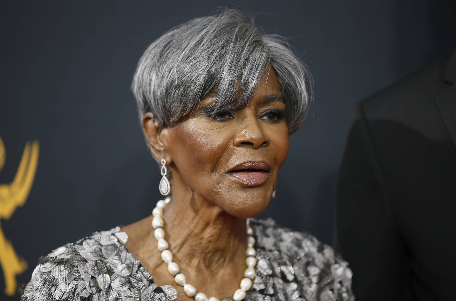 Cicely Tyson arrives at the 68th Primetime Emmy Awards on Sunday, Sept. 18, 2016, at the Microsoft Theater in Los Angeles. (Photo by Danny Moloshok/Invision for the Television Academy/AP Images)