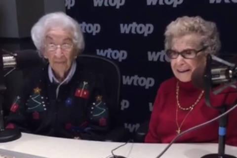 Gramma and Ginga, two sassy YouTube stars, charm WTOP