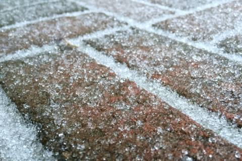 Ice-coated morning in DC area captured in photos
