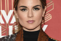 """Joanna """"JoJo"""" Levesque attends VH1 Divas Holiday: """"Unsilent Night"""" at Kings Theatre on Friday, Dec. 2, 2016, in New York. (Photo by Evan Agostini/Invision/AP)"""