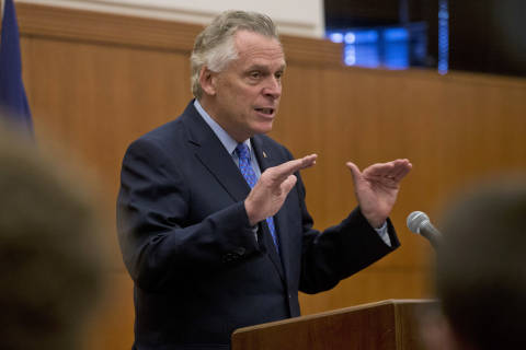 McAuliffe outlines cuts, tax changes to close $1B budget gap